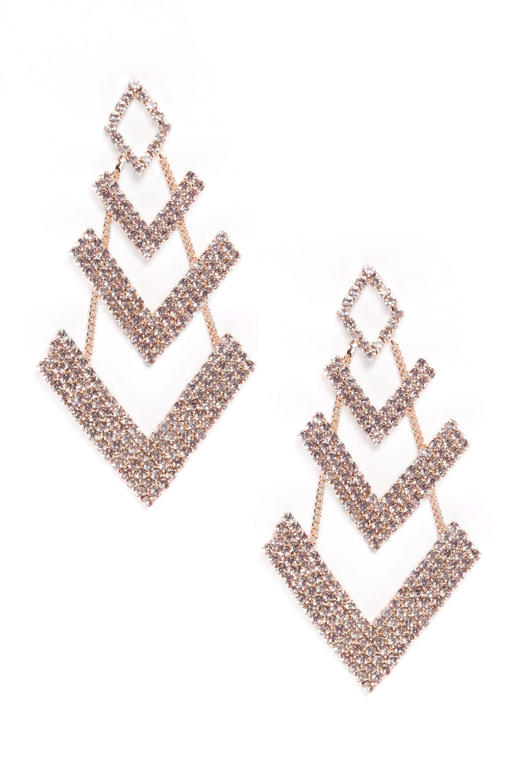 Very Chic Earrings - Gold