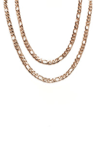 Everyday Chain Necklace - Gold Angle 4