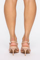 Always Posh Heeled Sandal - Nude