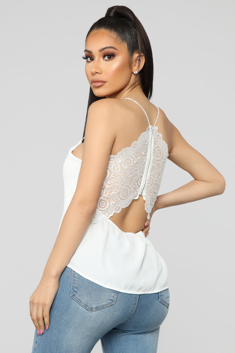 Going With The Flow Top - Off White