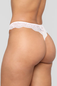 Never Let Me Go 3 Pack Lace Panties - Pink/Combo
