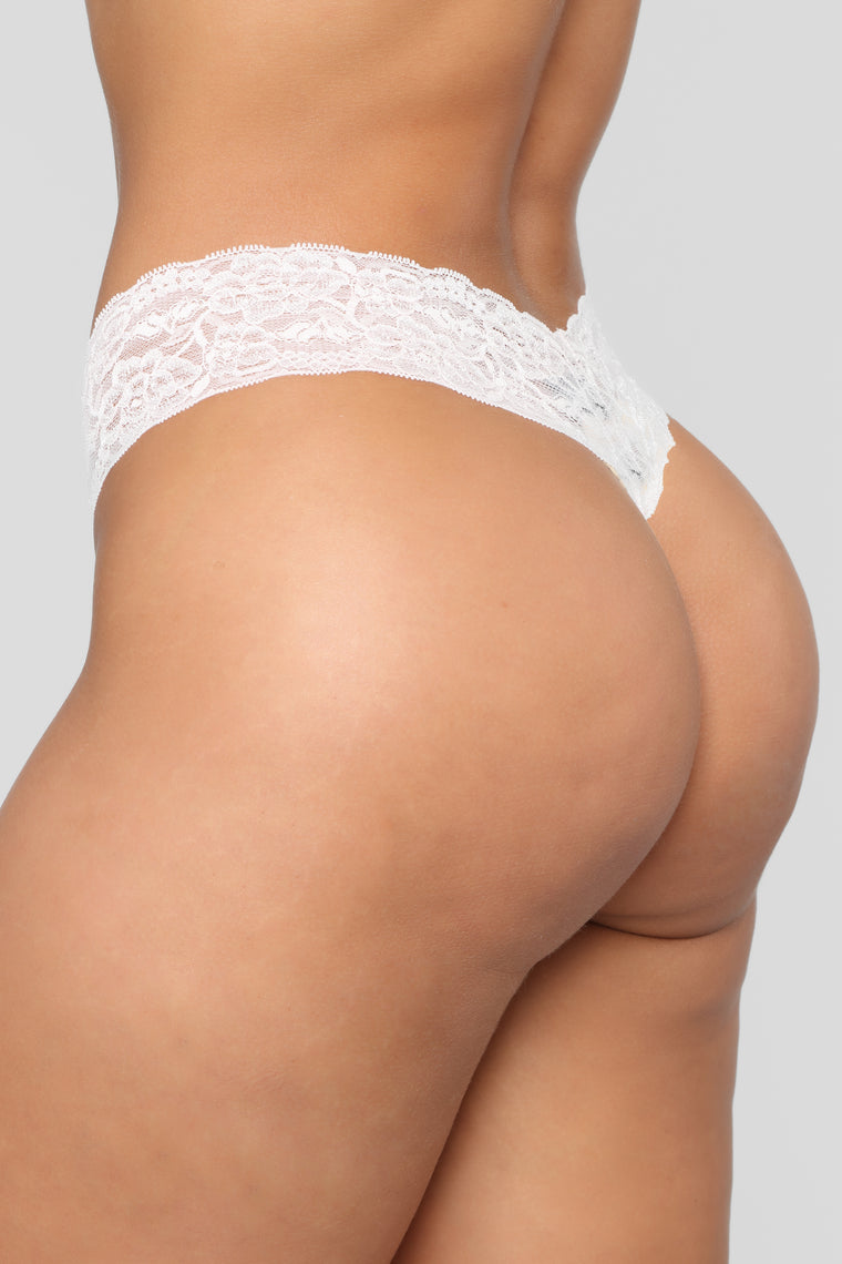 With Me 3 Pack Thong Panties - Pink/Combo