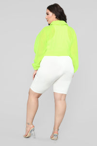 Come Alive Jacket - Neon Yellow
