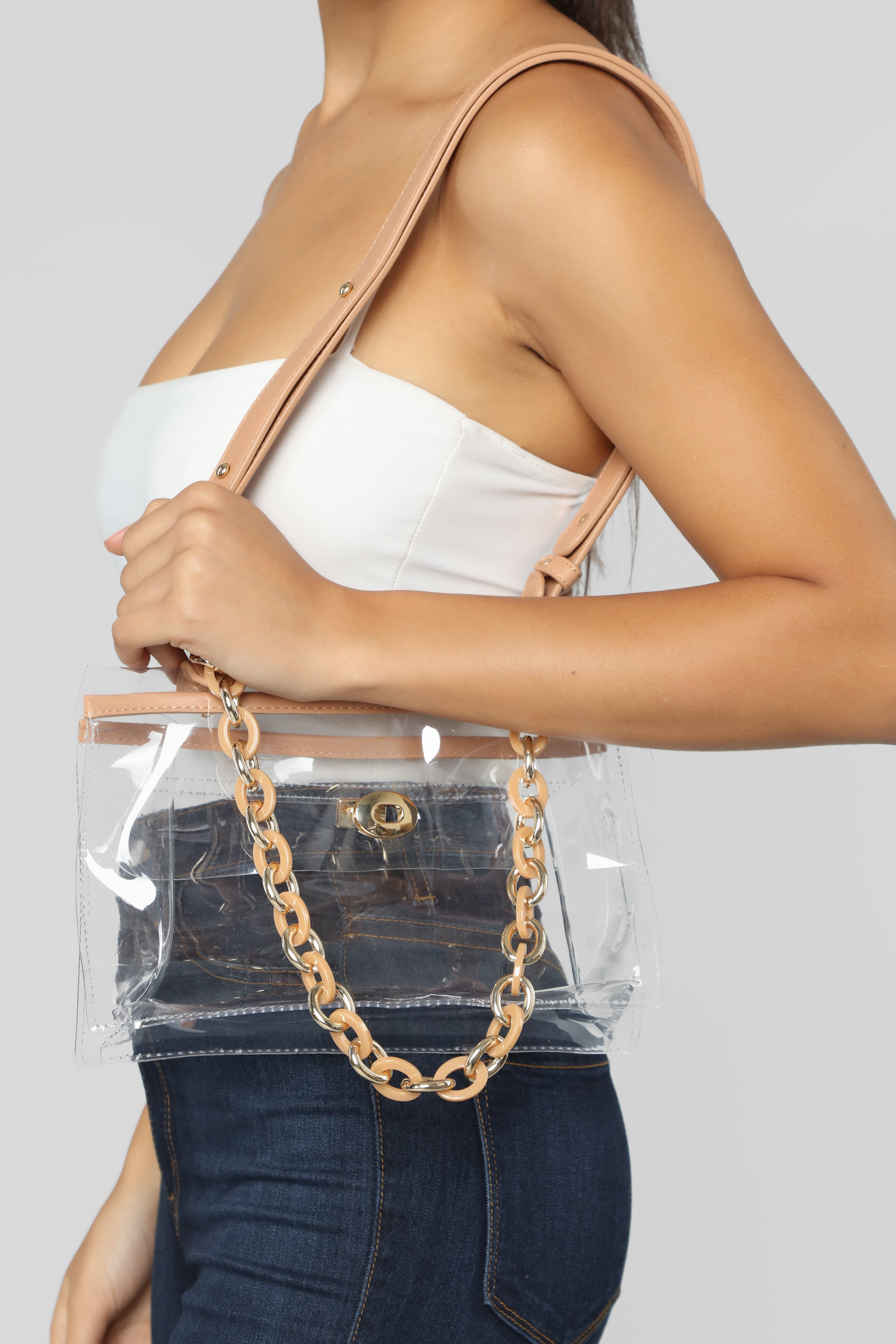 63558d899bd8 Don't Lucite Of Your Crossbody Bag - Clear