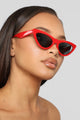 All You Need Sunglasses - Red