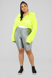 Kylie Reflective Jacket - Yellow Angle 7