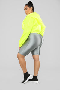 Kylie Reflective Jacket - Yellow Angle 8