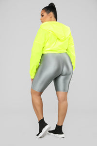 Kylie Reflective Jacket - Yellow Angle 10