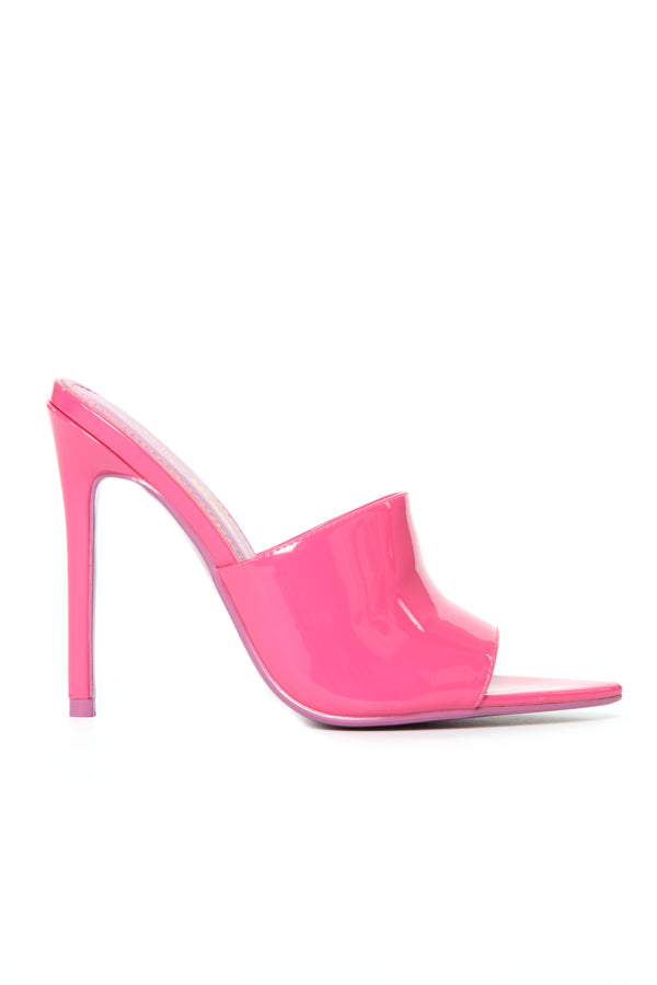 2e1095327878 Pandering Thoughts Heeled Sandal - Pink