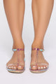 Oh You Again Sandals - Multi Color