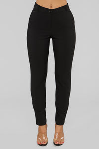 Love At First Sight Pants - Black