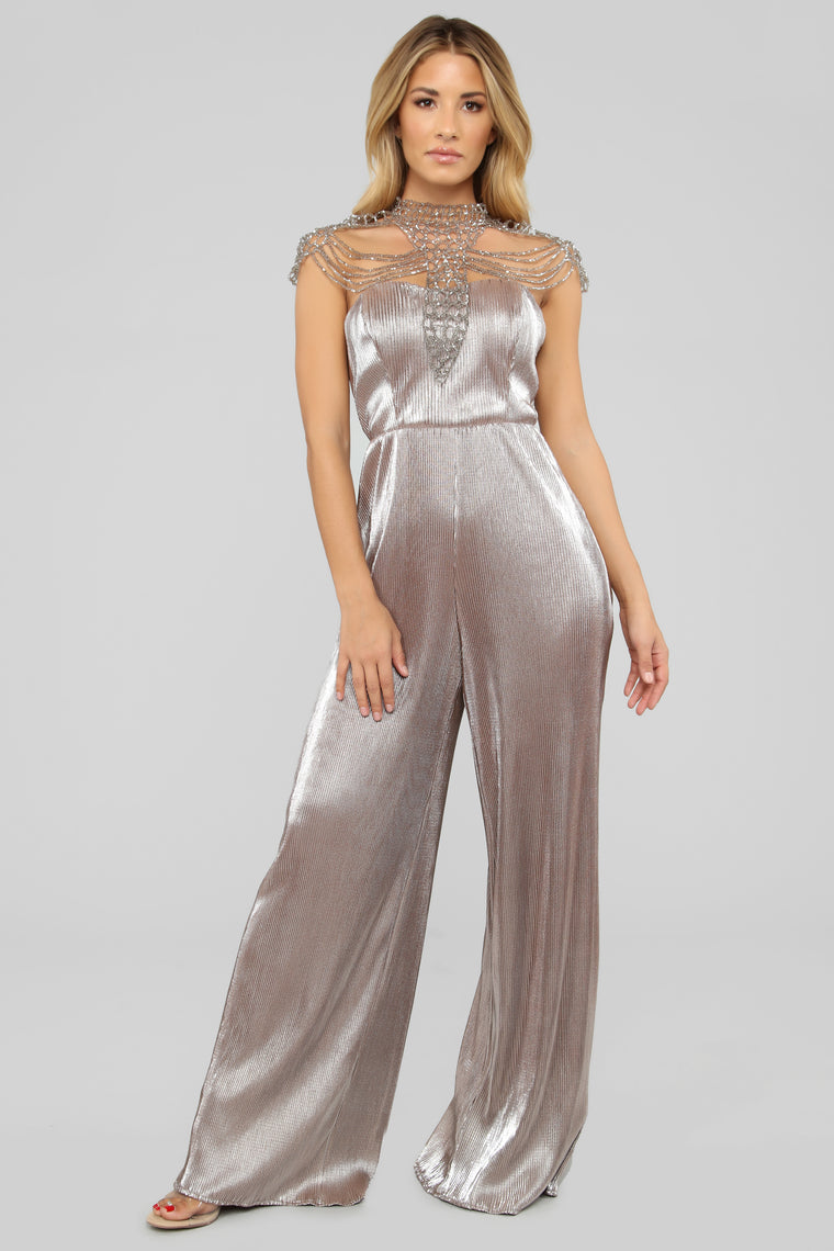Classic Creation Jumpsuit - Silver