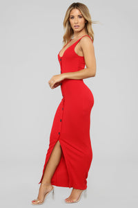 All This Sass Dress - Red