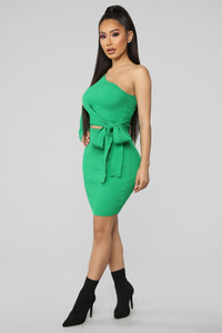 Cecilia Skirt Set - Kelly Green