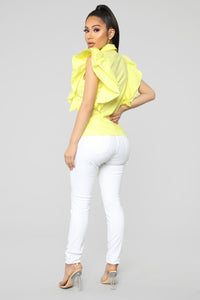 It's Under Control Blouse - Yellow