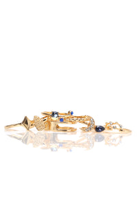 Moon Child Ring Set - Gold