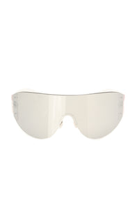 From The Start Sunglasses - Silver Angle 2