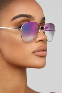 Keep It Going Sunglasses - Pink Angle 2