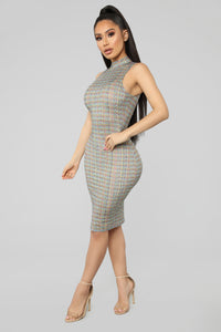 Something To Look At Midi Dress - Multi Angle 3