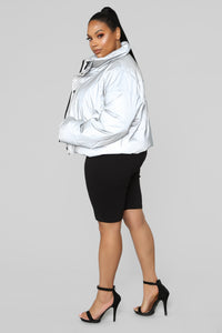 See My Reflection Jacket - Silver Angle 12