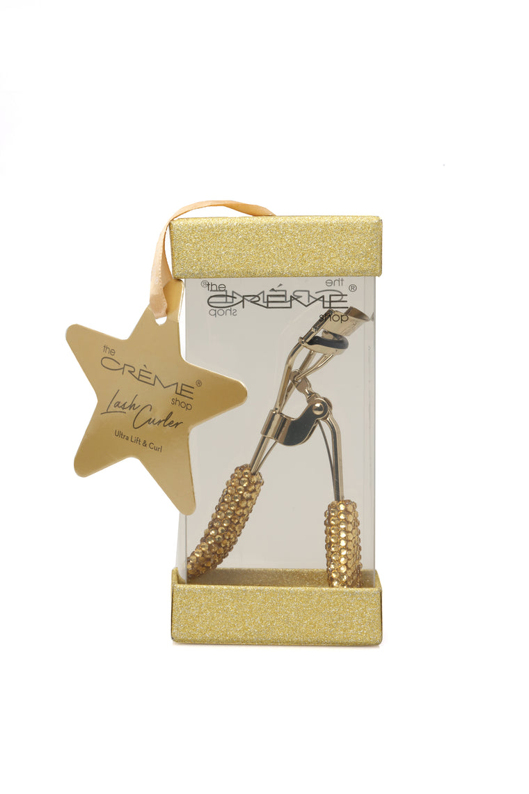 The Crème Shop Ultra Lift And Curl Lash Curler - Gold