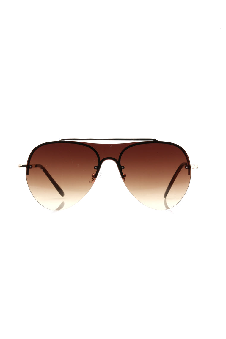Nobody But You Sunglasses - Brown
