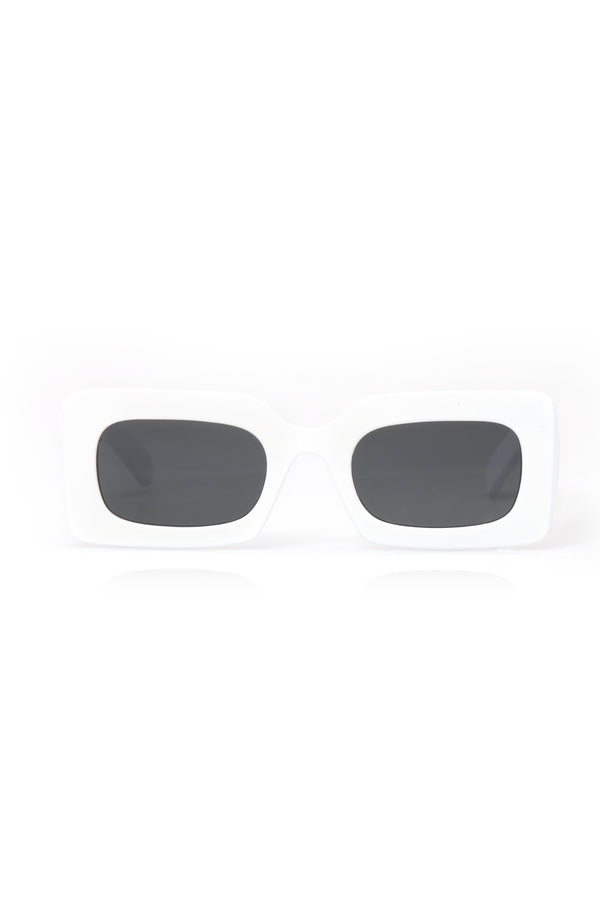 85ff59a847c How s It Going Sunglasses - White