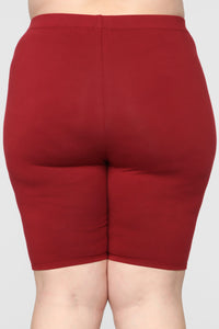 Paparazzi Short Set - Burgundy Angle 16