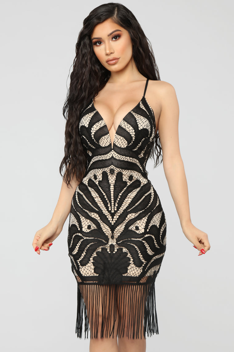 Unconditionally Yours Mini Dress - Black