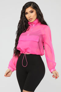 Come Alive Jacket - NeonPink