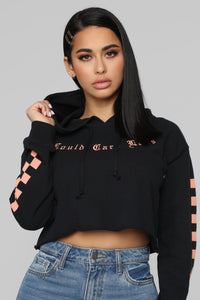 Could Care Less Sweatshirt - Black