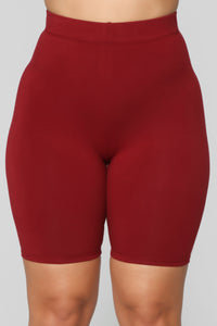 Paparazzi Short Set - Burgundy Angle 6