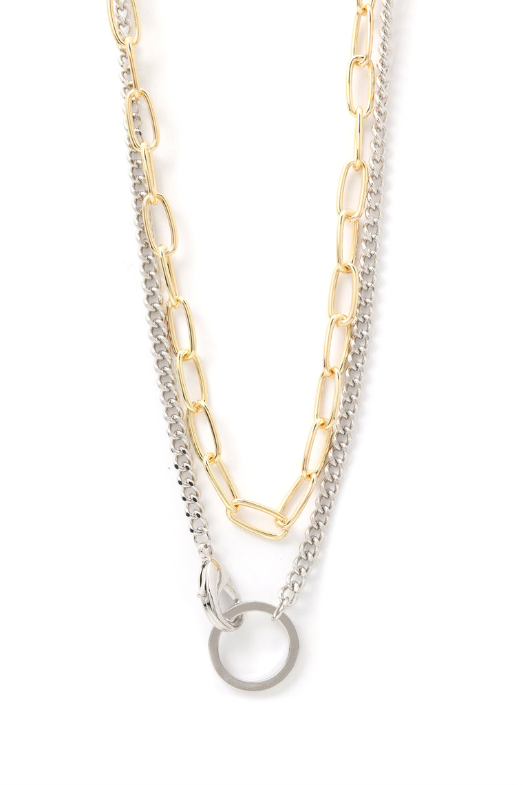 Take The Edge Off Necklace - Multi