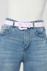 Candy Coated Belt - Lilac