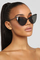 Sassy Cat Sunglasses - Black