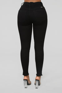 Can't Take It No More Skinny Jeans - Black