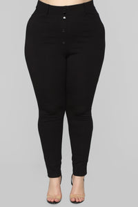 Working Woman Pants - Black Angle 8