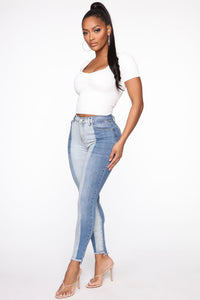 Heartly There Crop Top - White Angle 4