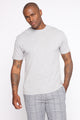 Essential Crew Tee - Grey