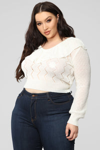 All About Love Top - Ivory Angle 6