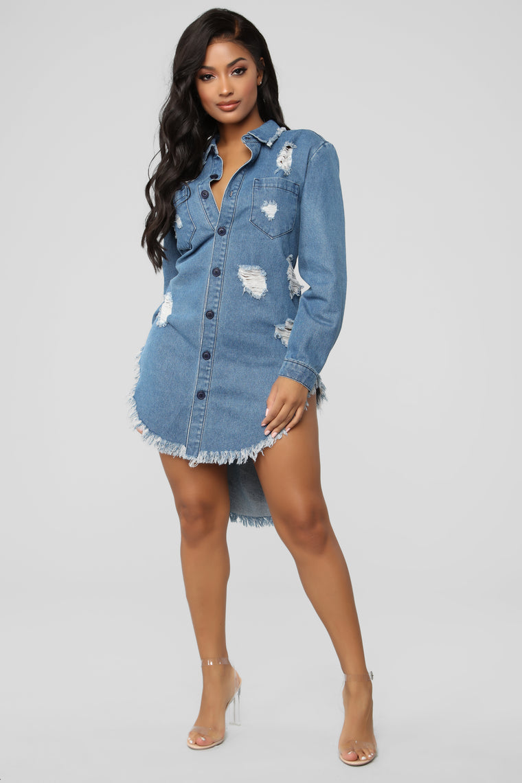Vermana Tunic - Denim