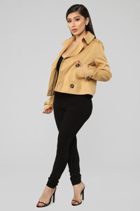 Feeling Iconic Trench Jacket - Tan