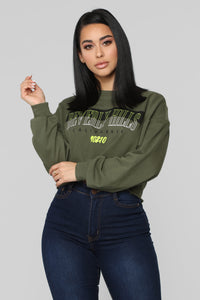 In The Hills Sweatshirt - Olive