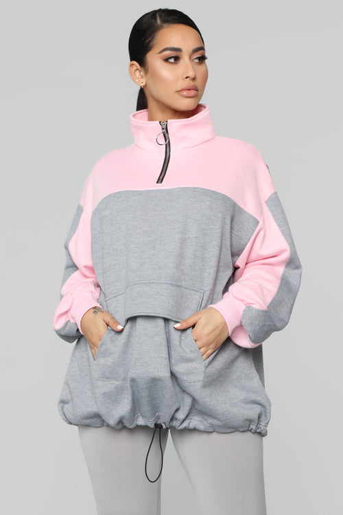 Ultimate Dream Sweatshirt - Pink/Combo