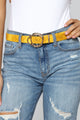 Hiss A Cutie Belt - Yellow