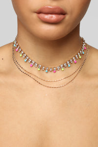 Rhine And Shine Necklace - Multi