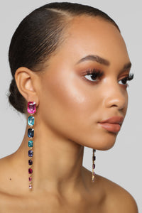 Be A Diamond Earrings - Multi