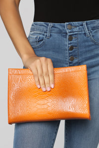 Rattle The Cage Clutch - Orange