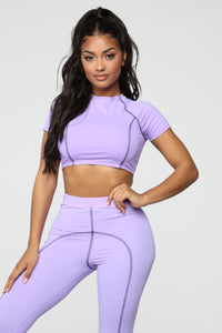 It's A Movement Lounge Set - Purple