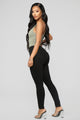 Jazzy I Skinny Pants - Black